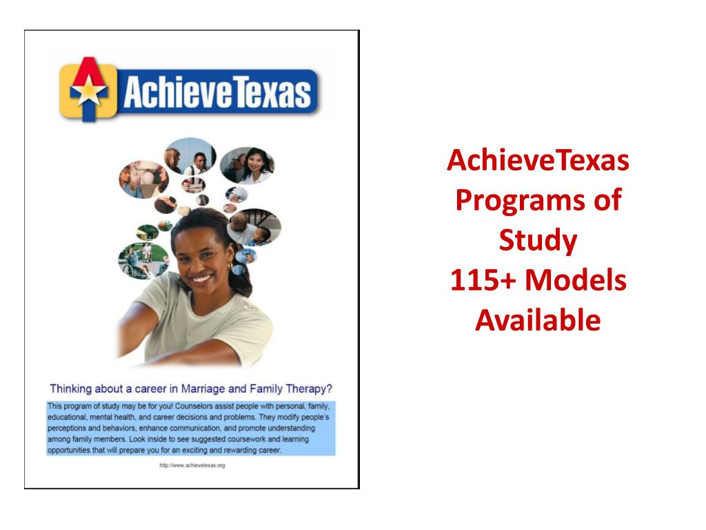 AchieveTexas Programs of