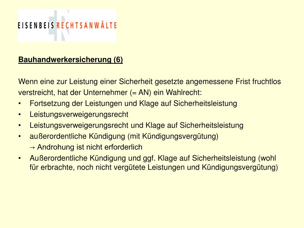 Bauhandwerkersicherung (6)