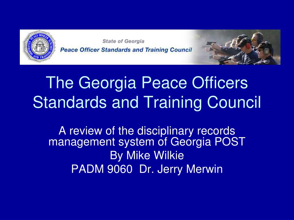 post peace officers standards and training Post board the colorado peace officer standards and training (post) board documents and manages the training and certification of all active peace officers and reserve peace officers working for colorado law enforcement agencies.