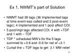 ex 1 nwmt s part of solution