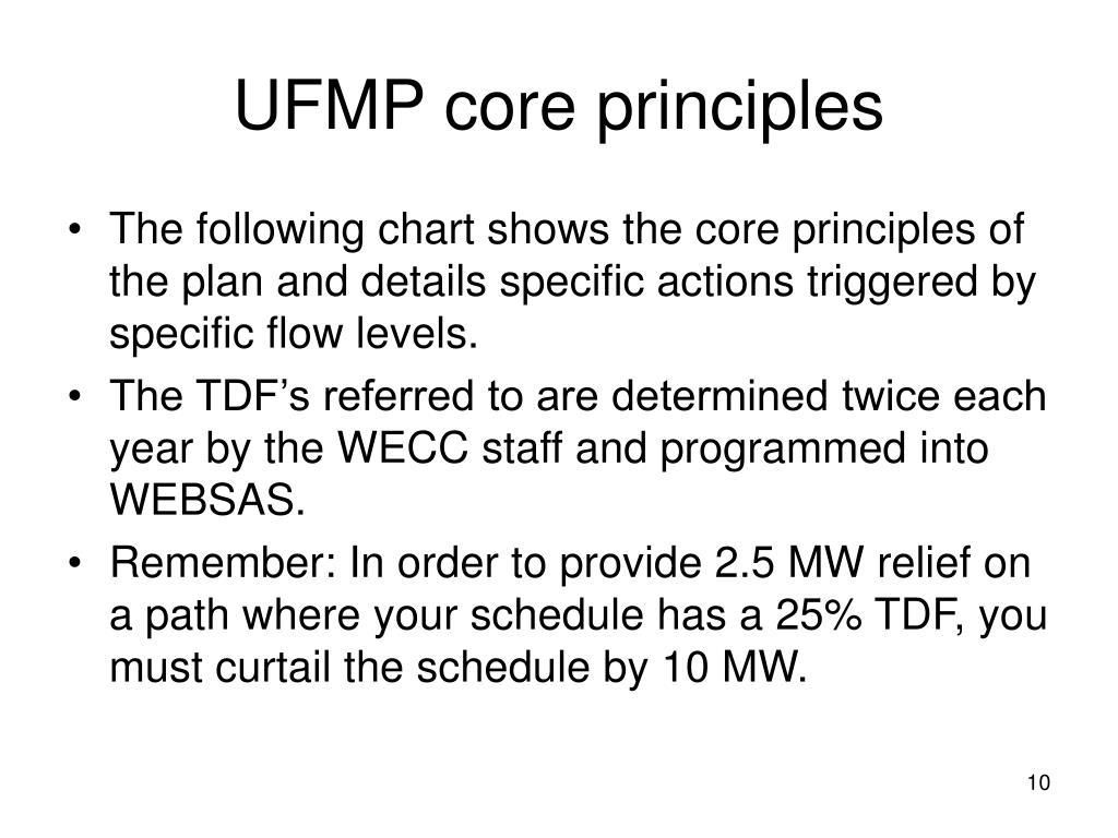UFMP core principles