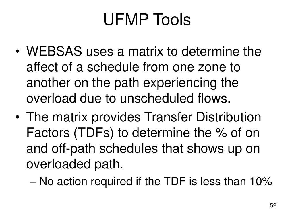 UFMP Tools