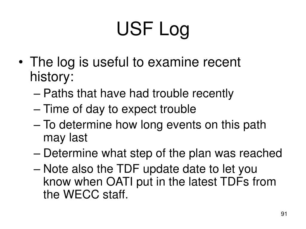 USF Log