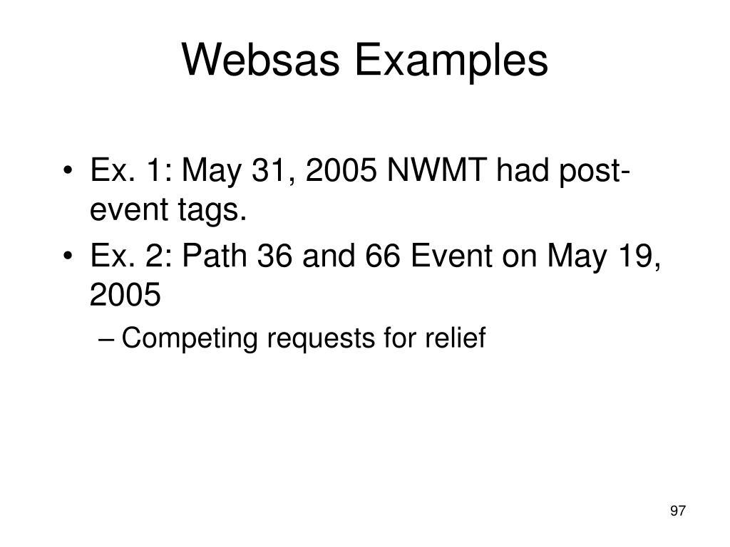 Websas Examples