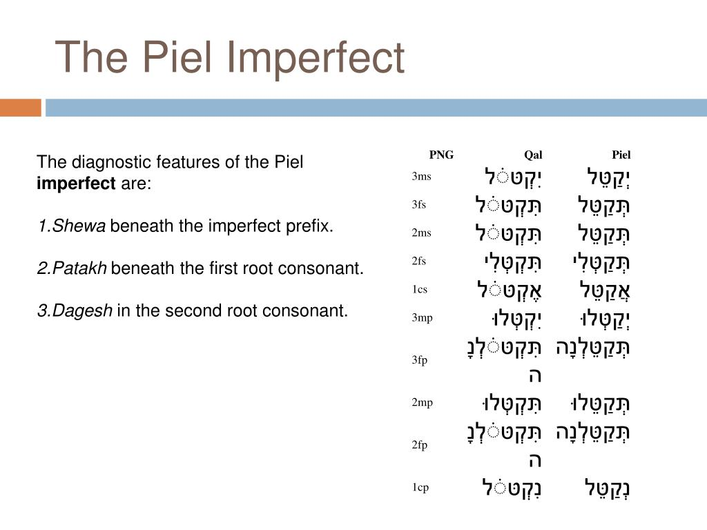 The Piel Imperfect