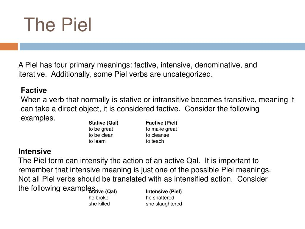 The Piel