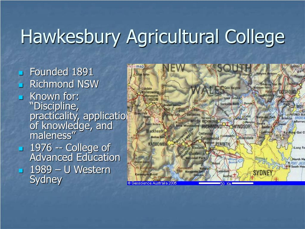 Hawkesbury Agricultural College