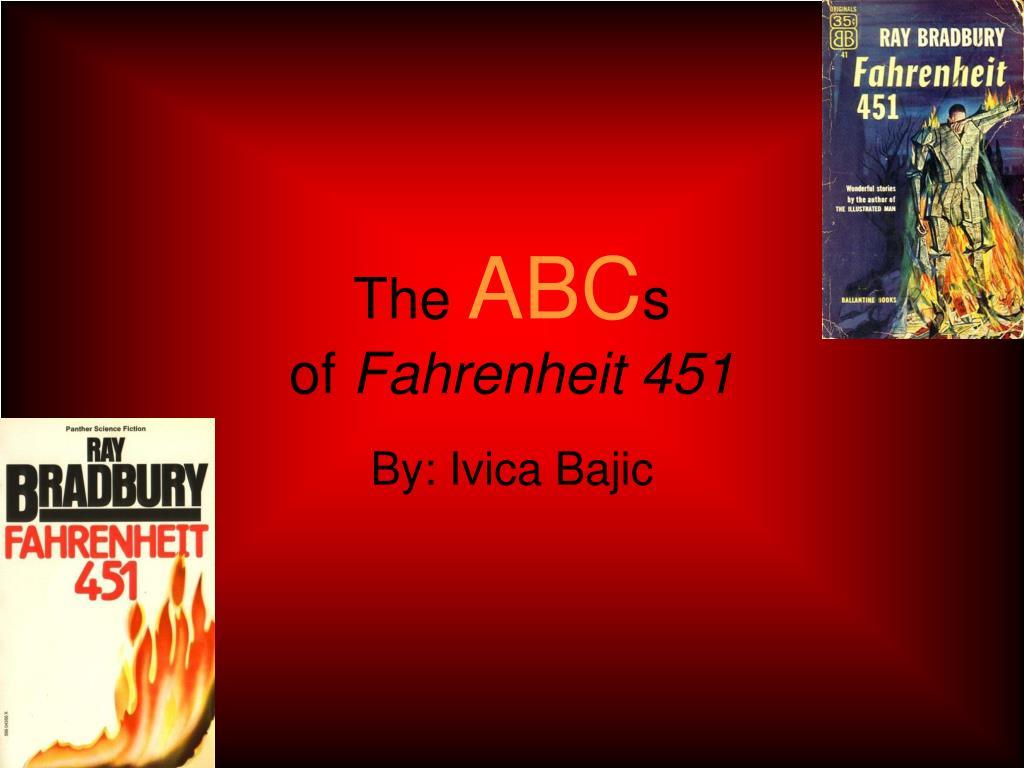 the abc s of fahrenheit 451
