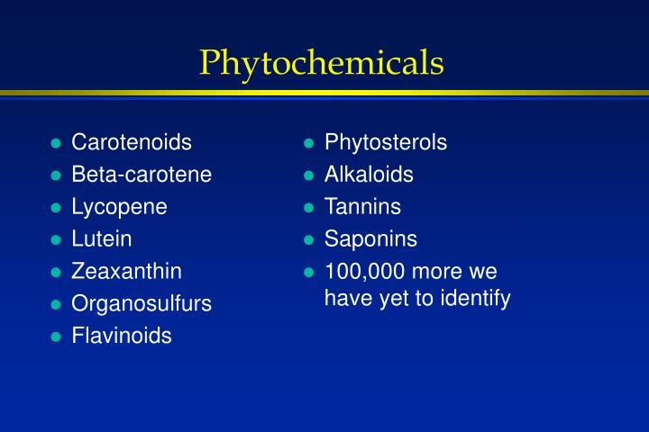 Carotenoids