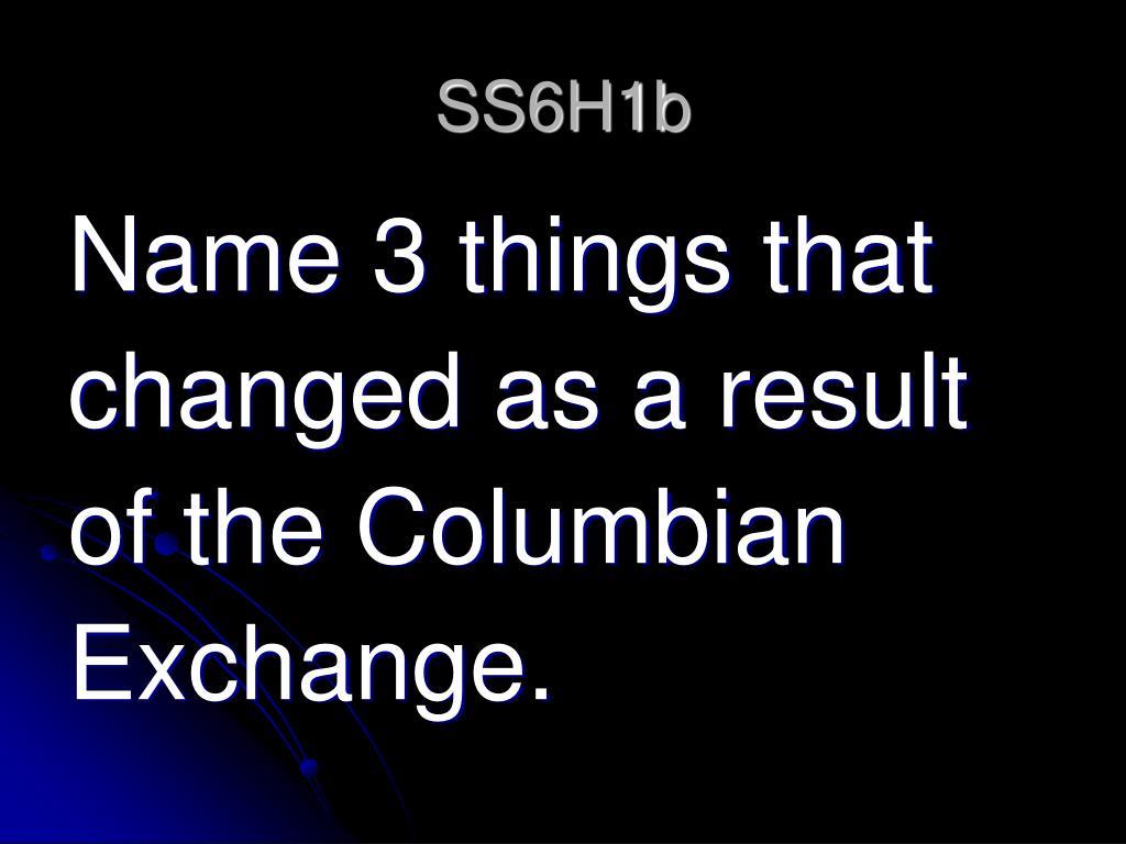 SS6H1b