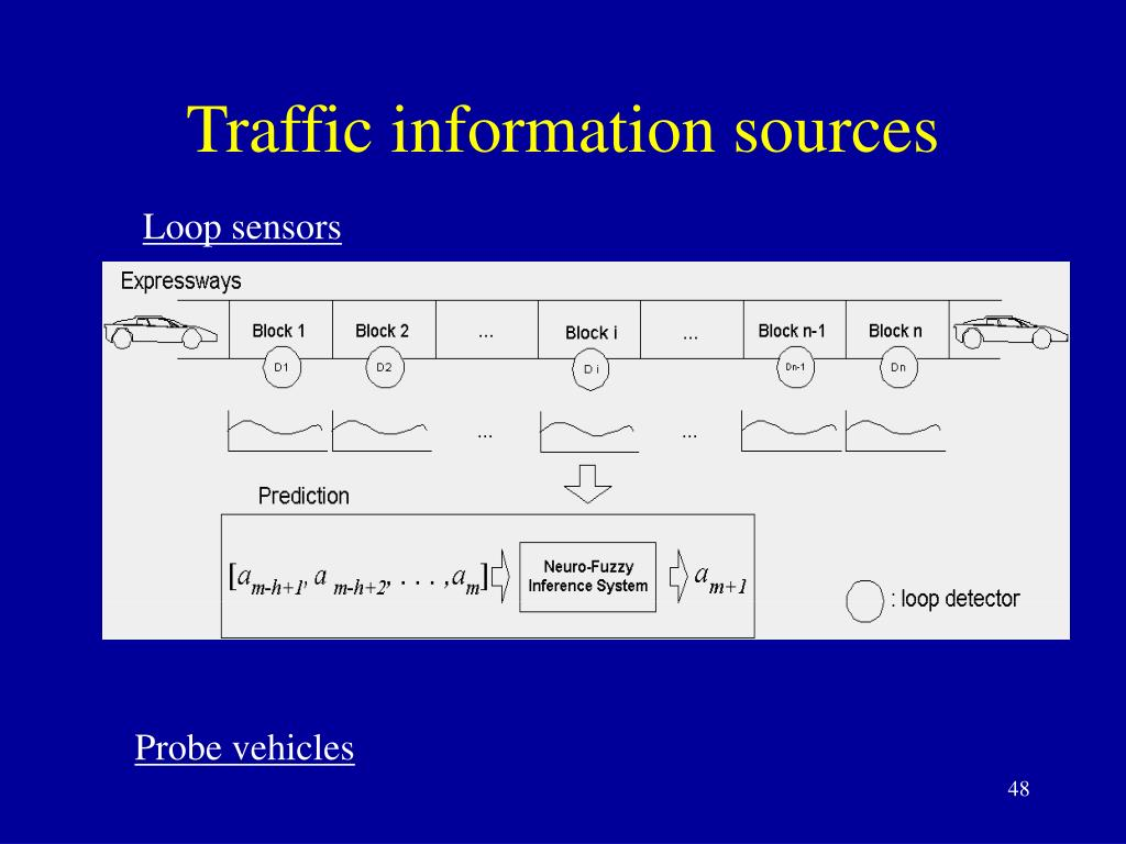 Traffic information sources