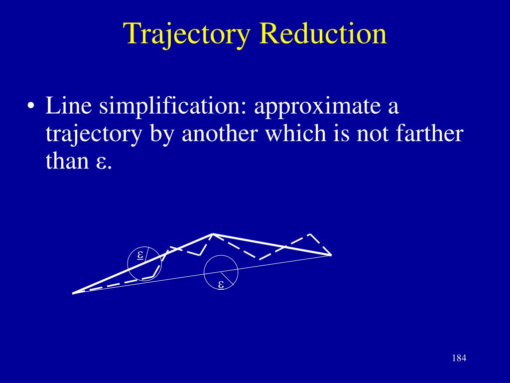 Trajectory Reduction