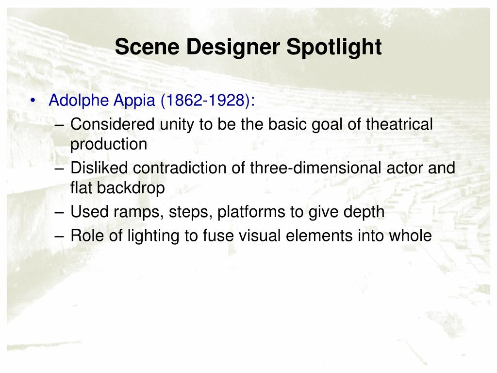 Scene Designer Spotlight
