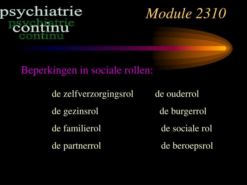 Module 2310