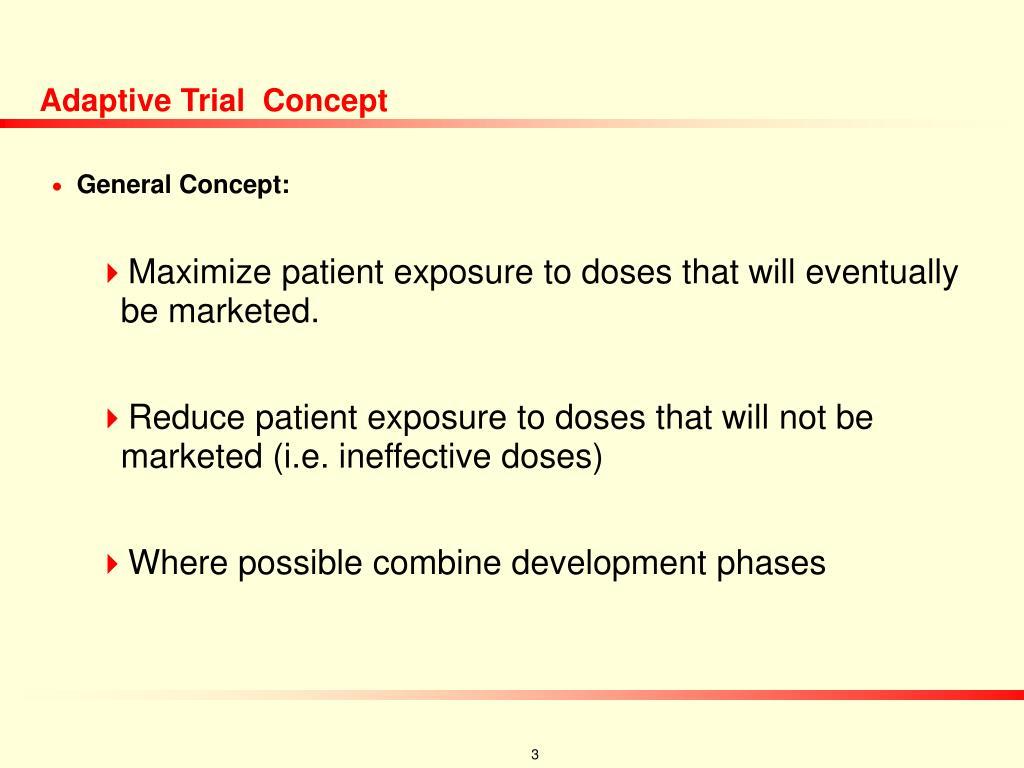 Adaptive Trial  Concept