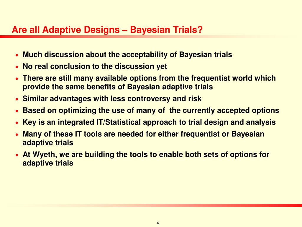 Are all Adaptive Designs – Bayesian Trials?