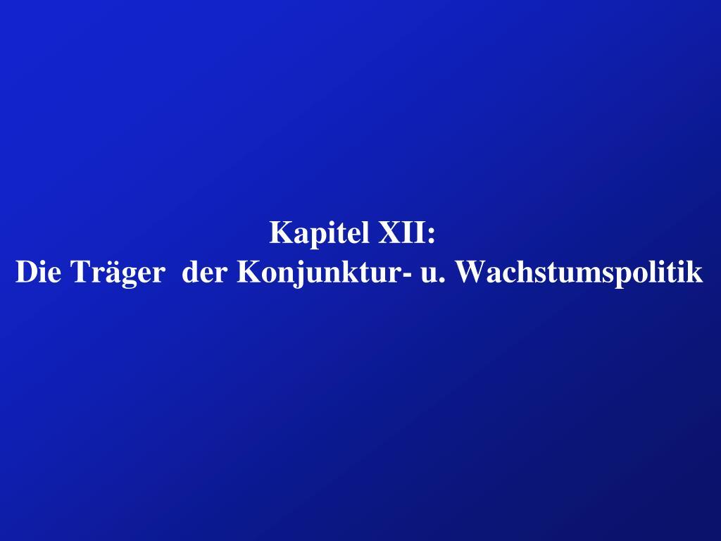 Kapitel XII: