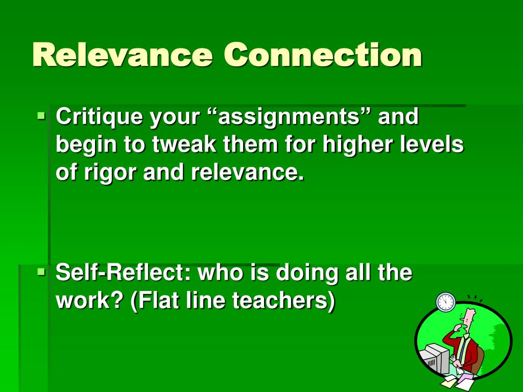 Relevance Connection