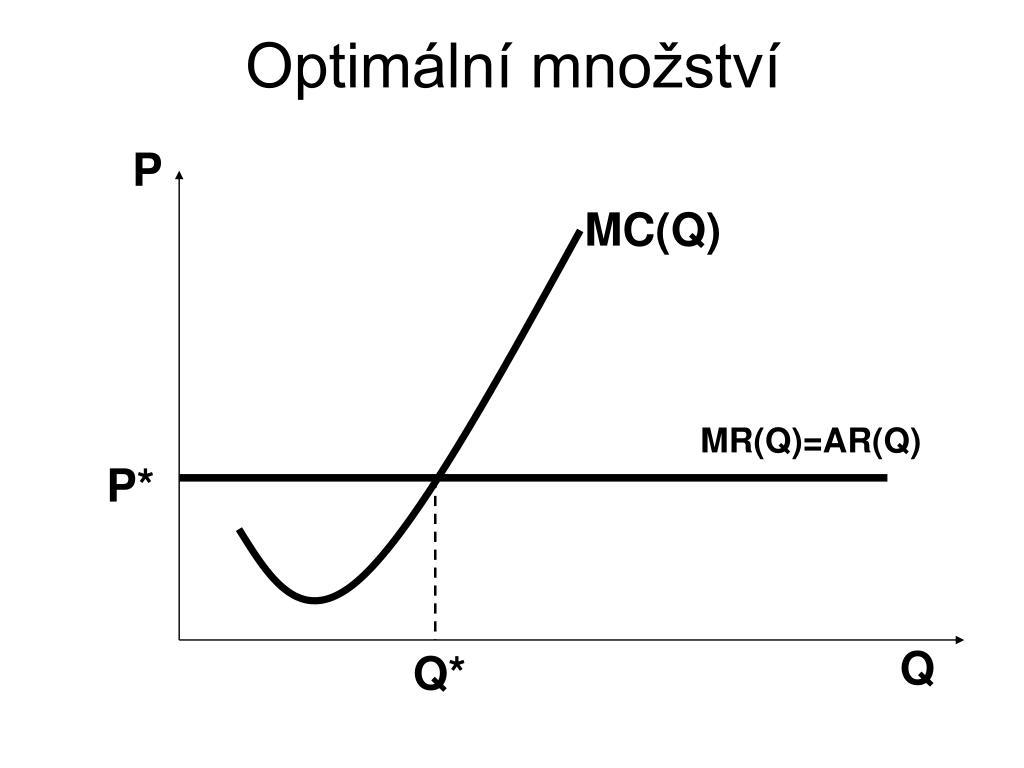 Optimální množství