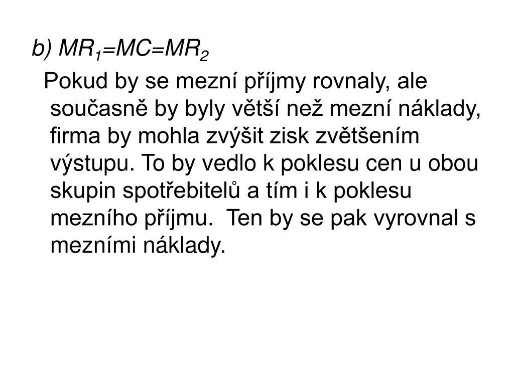 b) MR