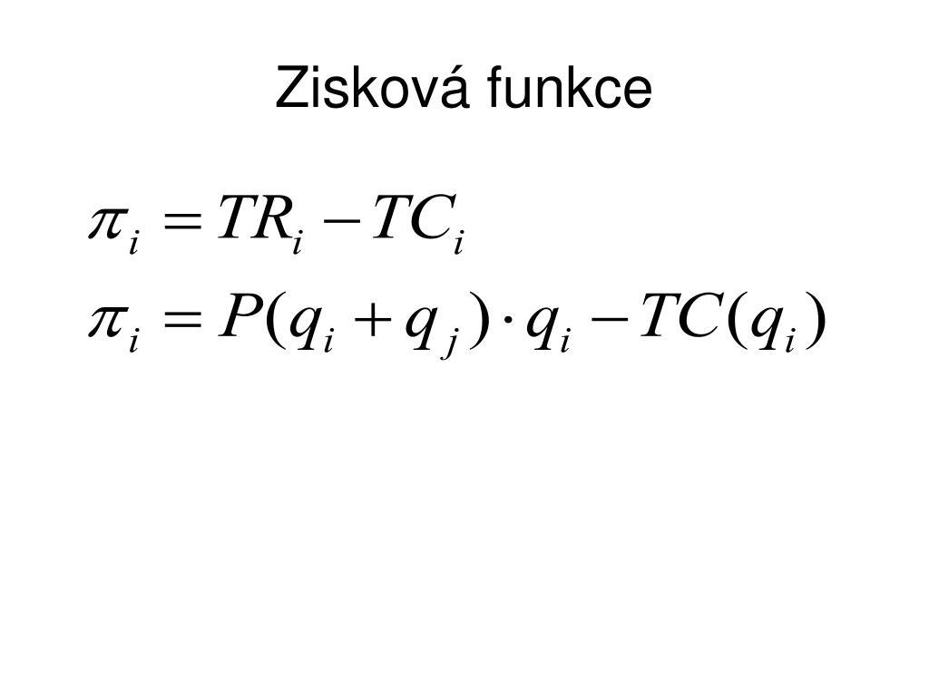 Zisková funkce