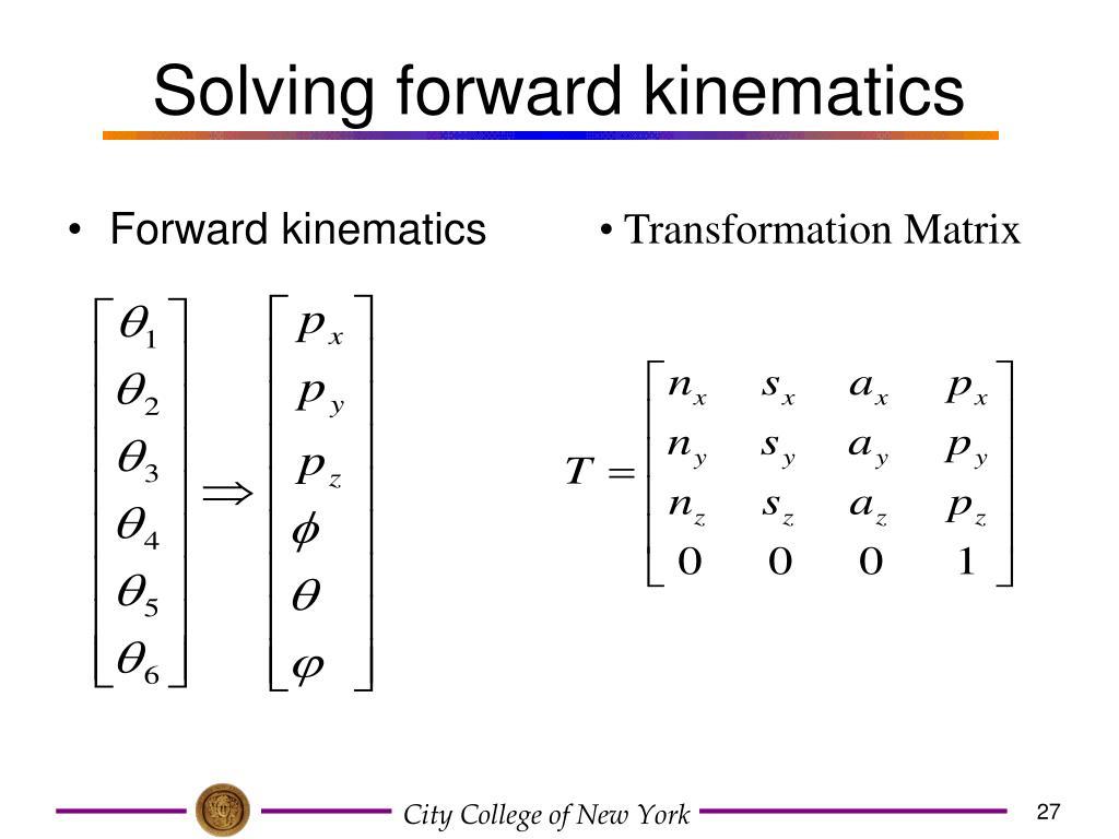 solving-forward-kinematics-l Homogeneous Transformation Matrix Example on perspective projection matrix, project matrix, rotation matrix, dependency matrix, alternative investment matrix,