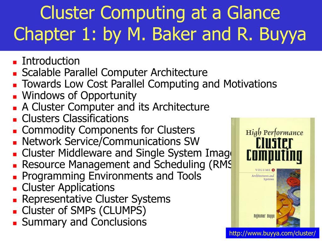 http://www.buyya.com/cluster/