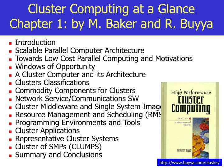 Cluster computing at a glance chapter 1 by m baker and r buyya l.jpg