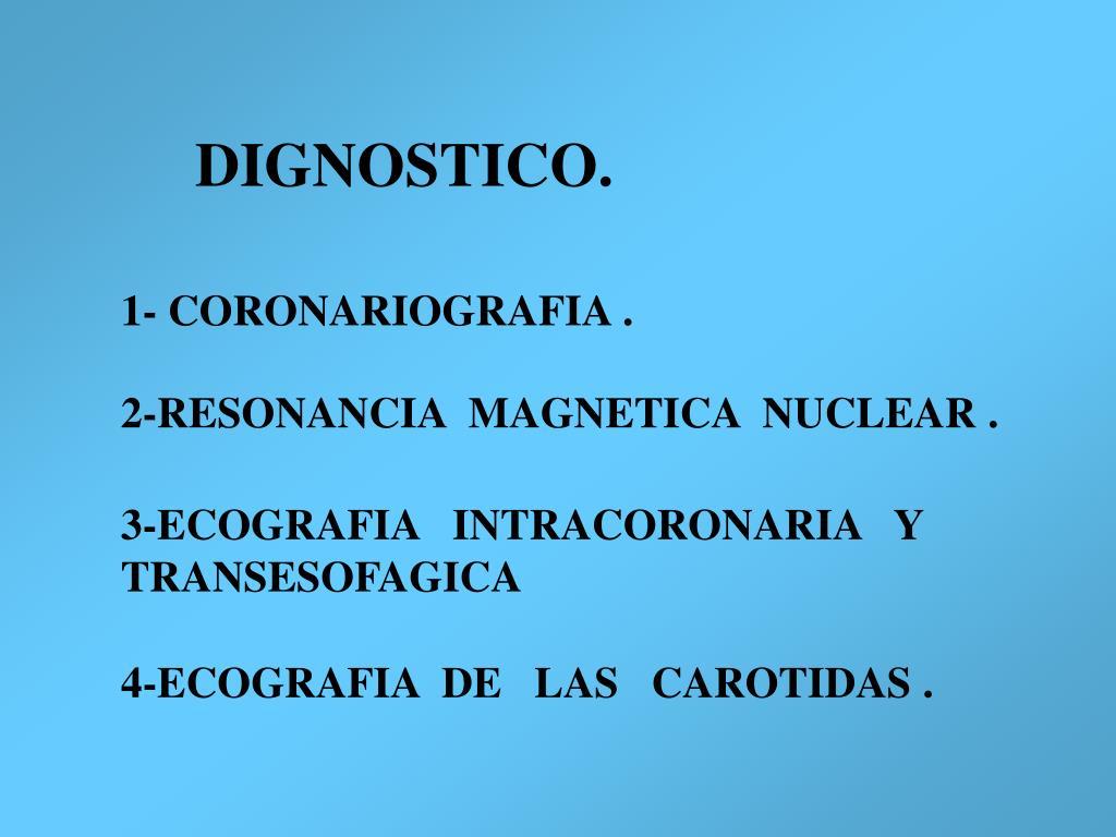 DIGNOSTICO.