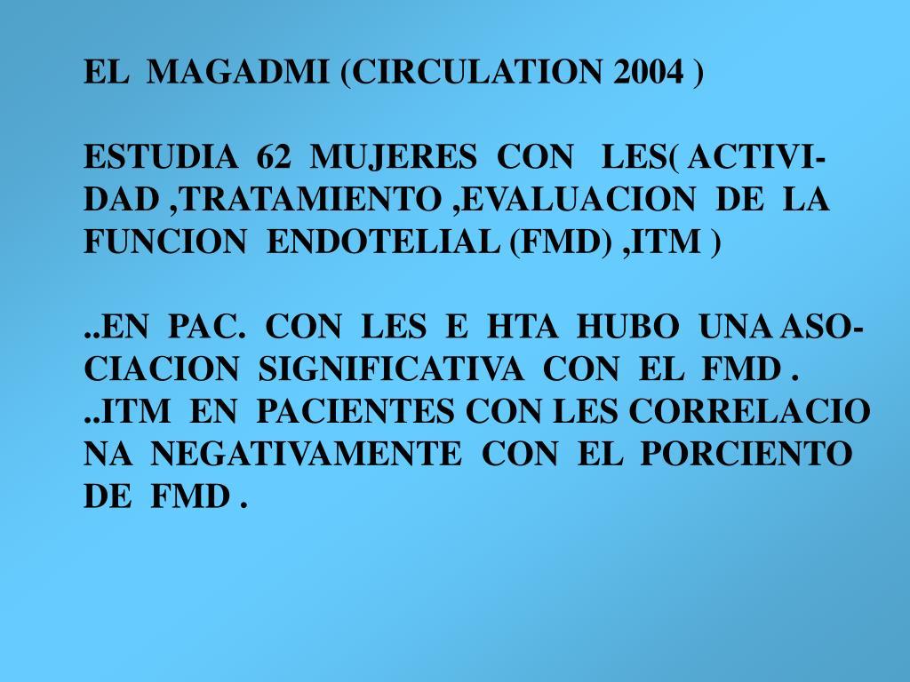 EL  MAGADMI (CIRCULATION 2004 )