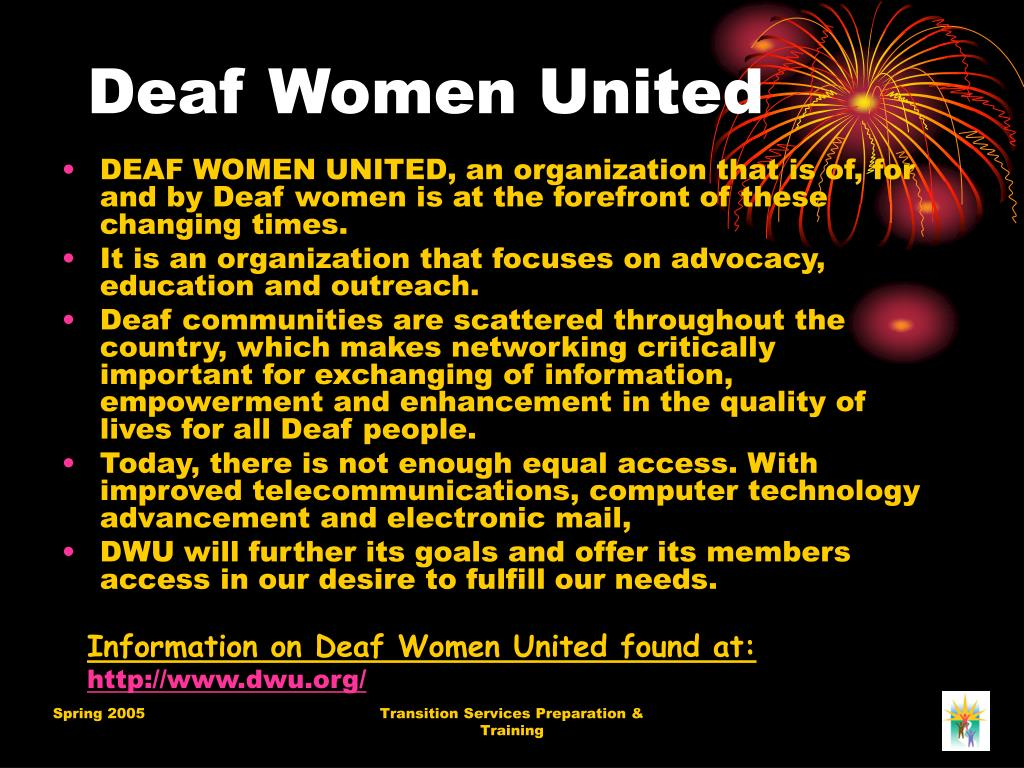 Deaf Women United