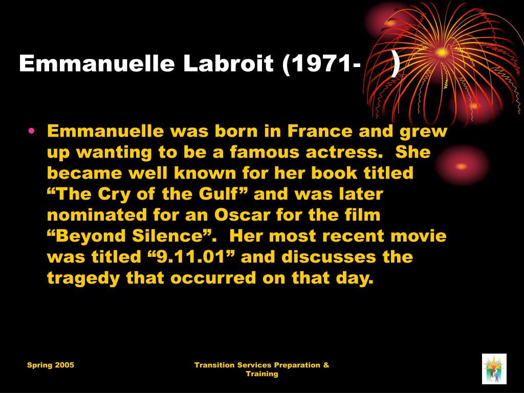 Emmanuelle Labroit (1971-