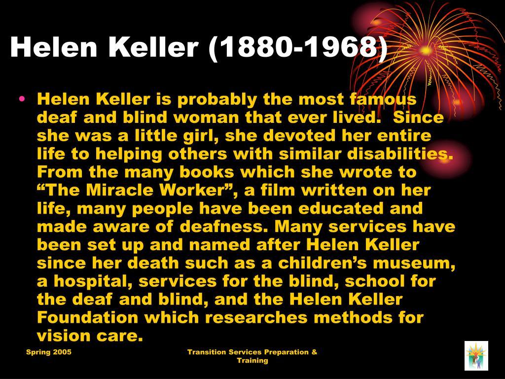 Helen Keller (1880-1968)