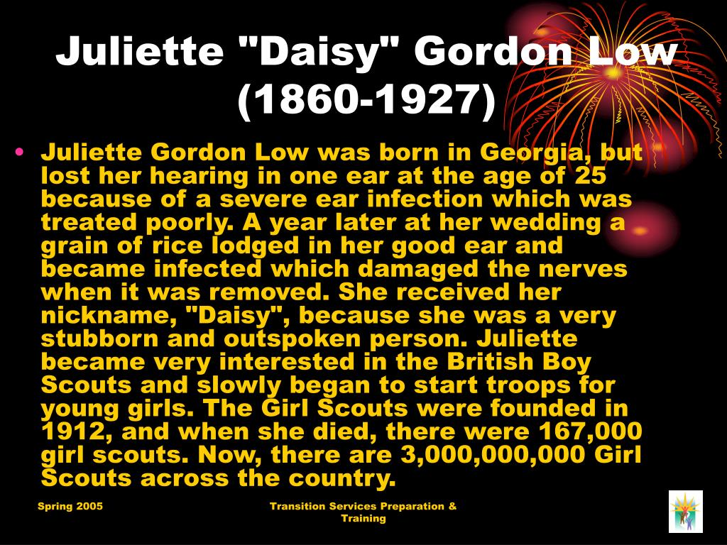 "Juliette ""Daisy"" Gordon Low (1860-1927)"
