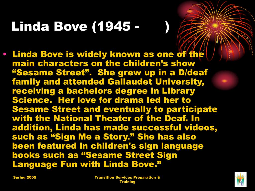 Linda Bove (1945 - )
