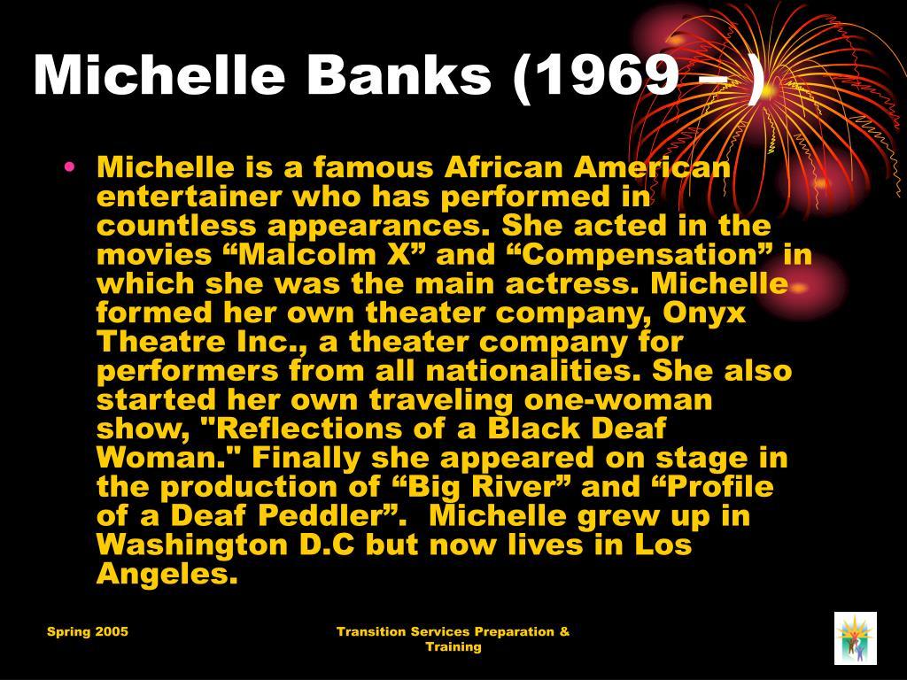 Michelle Banks (1969 – )