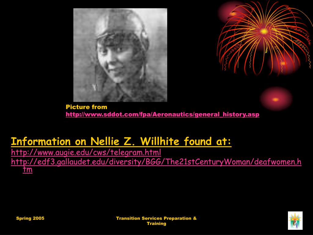 Information on Nellie Z. Willhite found at: