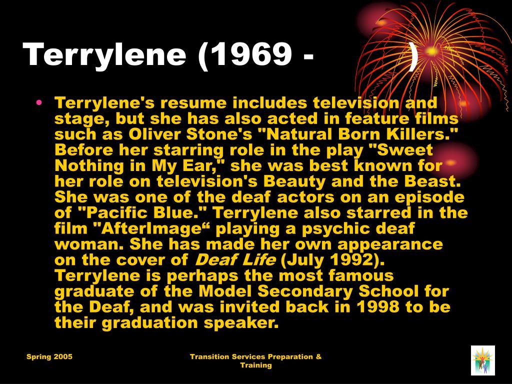 Terrylene (1969 -         )
