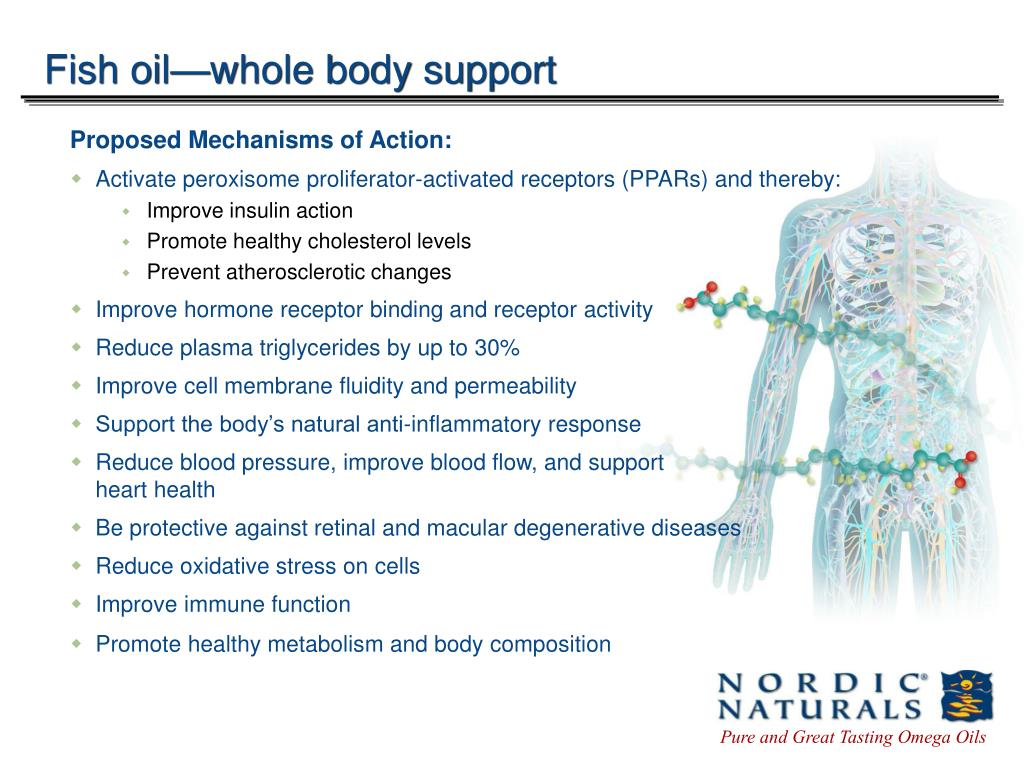 Fish oil—whole body support