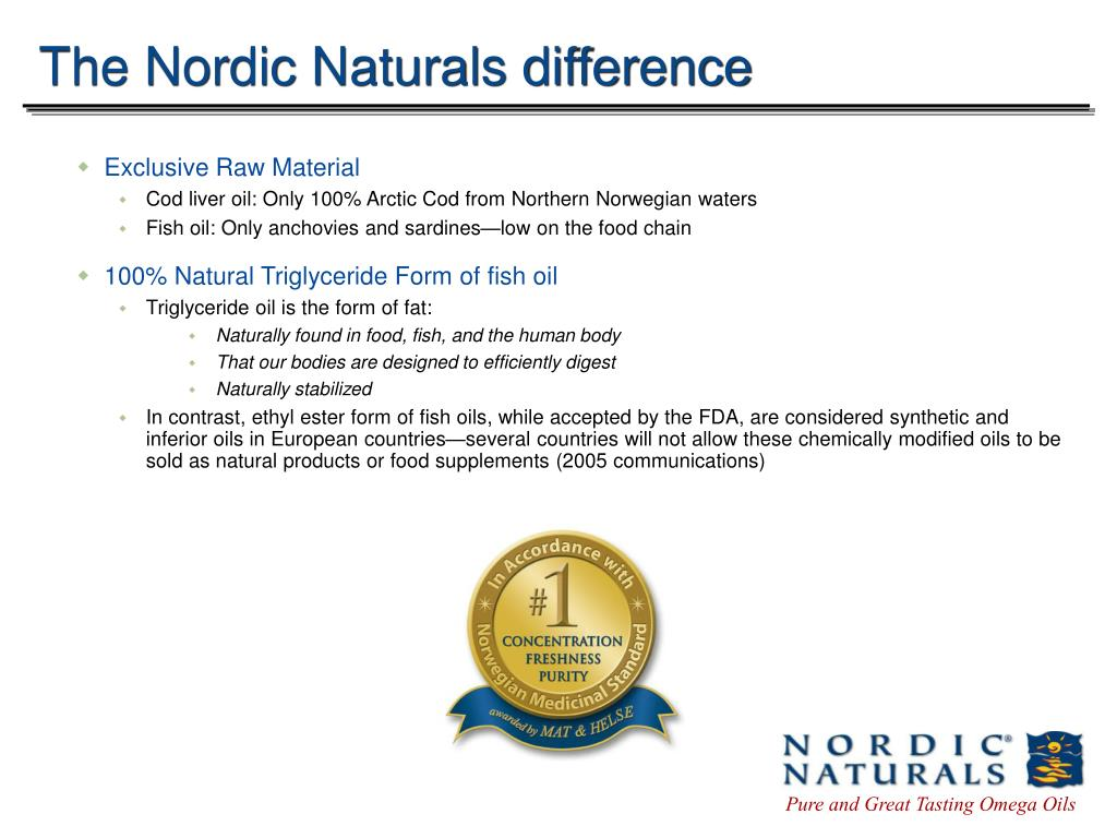 The Nordic Naturals difference