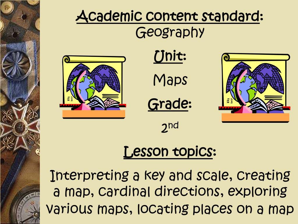 Academic content standard