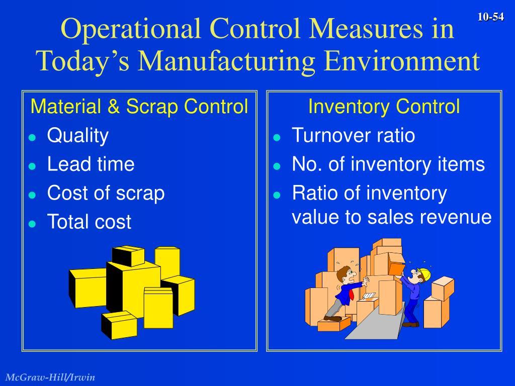 Material & Scrap Control