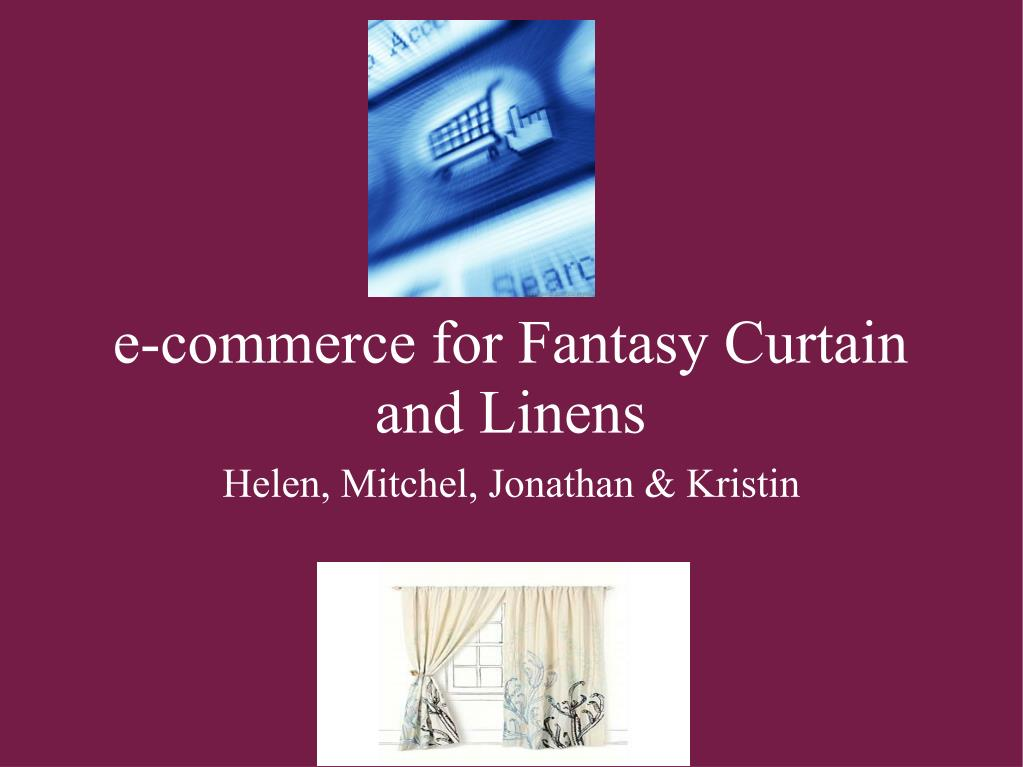 e-commerce for Fantasy Curtain and Linens