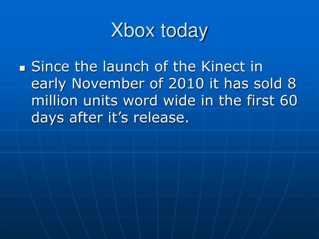Xbox today