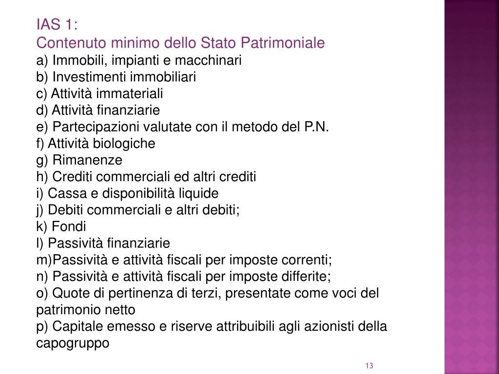 IAS 1: