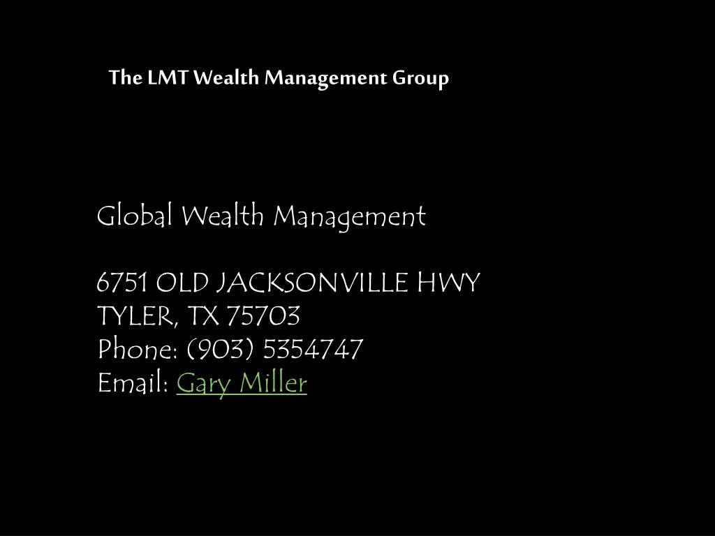 The LMT Wealth Management Group