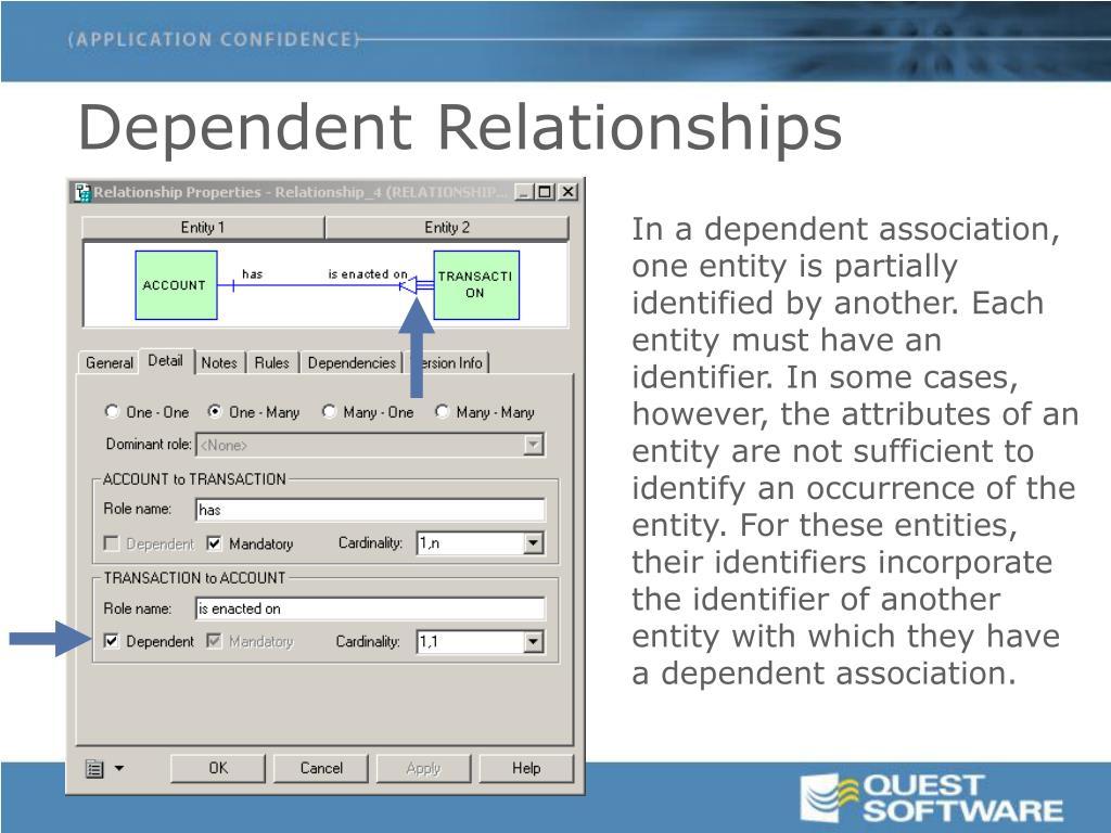 Dependent Relationships