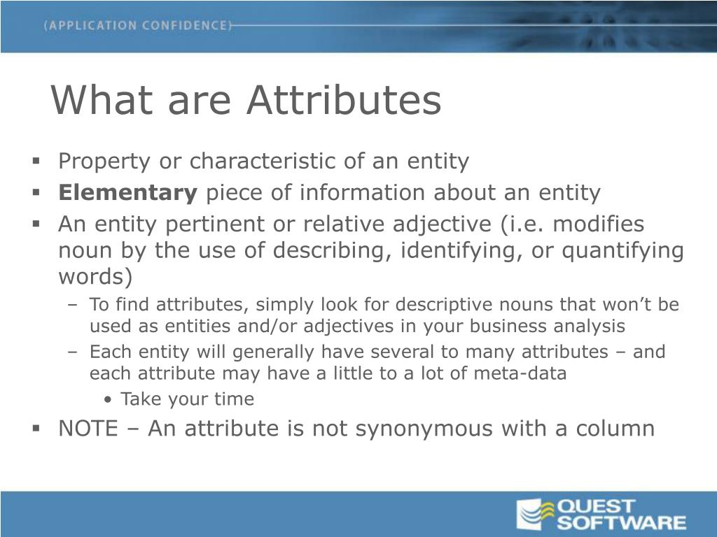 What are Attributes