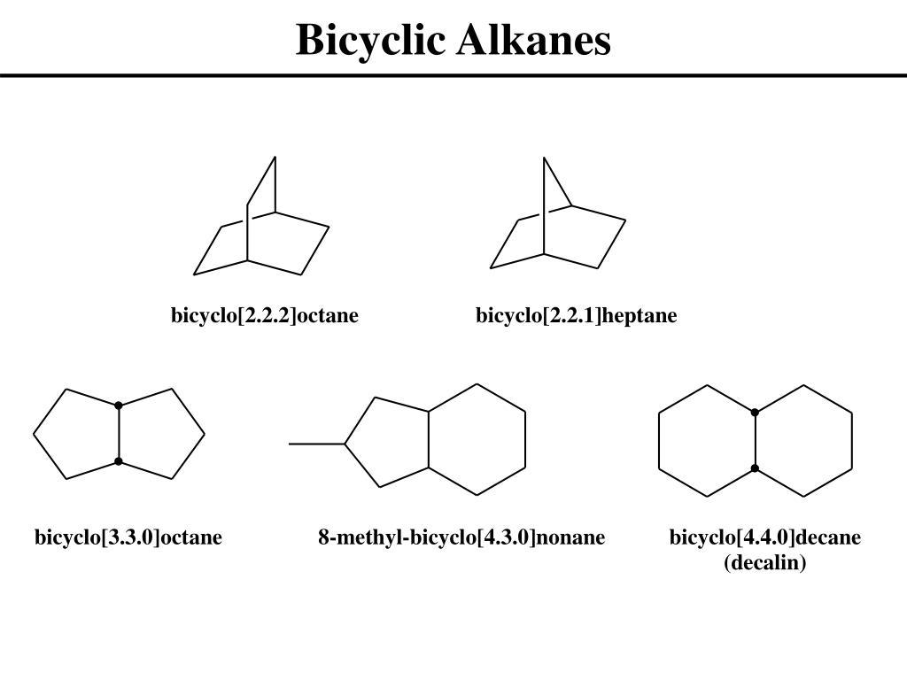 Bicyclic Alkanes
