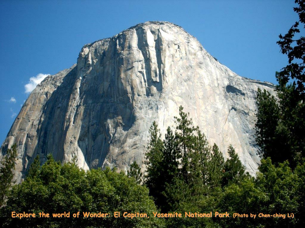 Explore the world of Wonder: El Capitan, Yosemite National Park